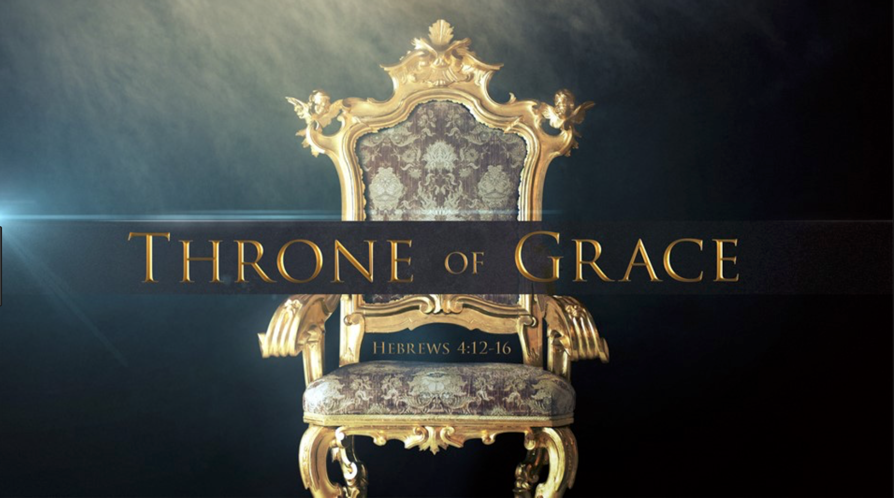 It is a throne of Grace, not Judgement. | by Ed Elliott | Medium
